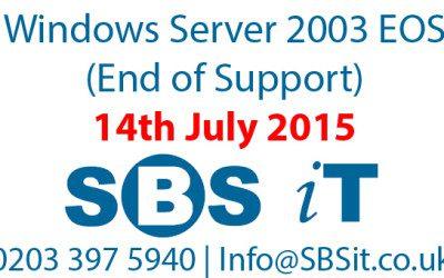 RIP Server 2003 – It's been fun.