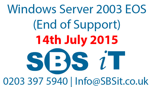 RIP Server 2003 – It's been fun.