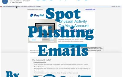Phishing Emails – How to spot them