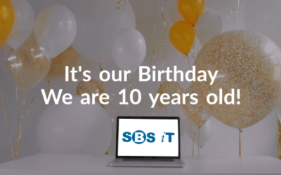 It's our Birthday – 10 years old
