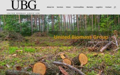 Website Design – United Biomass Group